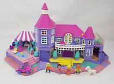Polly Pocket luz mágica mansión Figuras Conjunto de Juego pollyvile Excelente