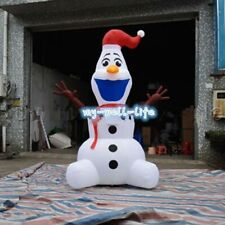 Large Airblown Outdoor Christmas Inflatables Olaf Inflatable Snowman 6M b