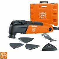 FEIN FMT250QSL STARLOCK Multi Talent QUICK IN Tool Kit + Blades 240v 72295361240