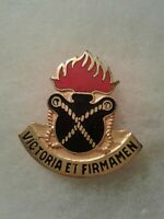 Authentic US Army 197th Ordnance Battalion Unit DI DUI Crest Insignia P23