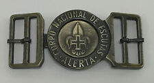 SCOUTS OF PORTUGAL - SCOUT LEADER / COMMISSIONER OFFICIAL METAL BUCKLE