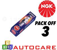 NGK Iridium IX Upgrade Spark Plug set - 3 Pack - Part Number: BR7HIX No 7067 3pk