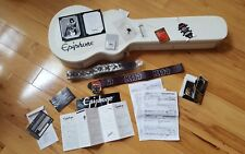 Epiphone Tommy Thayer White Lightning les Paul from Japan