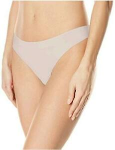 Calvin Klein Women's Invisibles Line Thong Panty,, Nymph's Thigh, Size Small