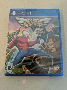 Revenge Of The Bird King RARE Limited Run Games PlayStation 4 PS4 NEW SEALED OOP