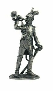 NAPOLEONIC WARS Trumpeter Dragoon Guards Metal Figure 1/32 Toy Soldiers