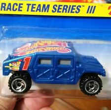 Hot wheels 1997 HUMMER 📸  Race Team III 🎯Mint 🎯BOX SHIPPED FOR SAFETY...
