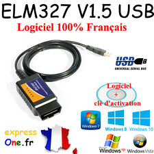Interface de  Diagnostique Multimarque ELM327 USB en Français - VAG COM