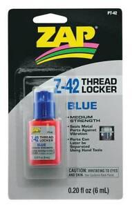 Zap PT42 Adhesives Z-42 Thread Locker .20 oz