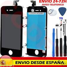 Pantalla Schermo Display Completa Tactil LCD + Marco para Iphone 4S Negro Negra