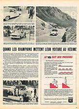 PUBLICITE ADVERTISING 045  1956  SIMCA  VEDETTE  V8