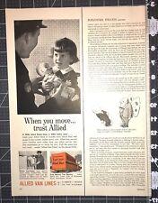 Life Magazine Ad ALLIED VAN LINES