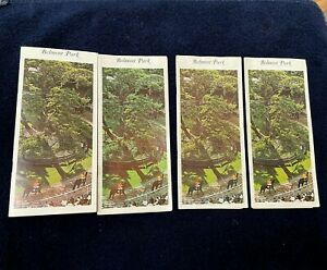 Rare Lot of 4 1969 Saturday Belmont Park Official program Horse Racing