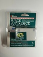 VINTAGE WOODS OFFICE PRODUCTS SURGE SUPPRESSOR BRAND NEW SEALED NOS No. 5613