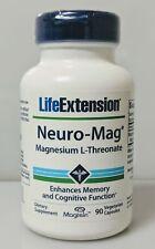 Neuro-Mag Magnesium Threonate, Life Extension, 90 capsule