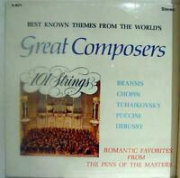101 STRINGS best known themes from great composers LP Sealed S 5071 Vinyl