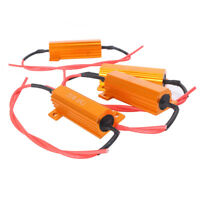 4pcs LED Turn Signal Load Resistor Resister 50W 60om Error Free Code Hyper Flash