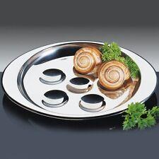 Kuchenprofi: Schneckenpfanne piatto lumache inox lucido (portata:6 lumache)