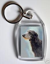 Deerhound Key Ring By Starprint - No 1