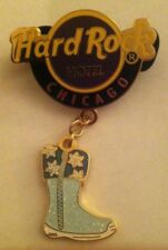 Hard Rock Cafe Pin Chicago Hotel Shoe Series Boot