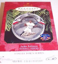 Hallmark Ornament Jackie Robinson, Baseball Heroes, dated 1997, 4th in series