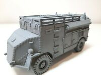 British Dorchester 4x4 ACV LP Armoured Command Vehicle Resin Bolt Action 28mm