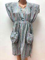 The MASAI Clothing Company size L / XL / XXL Multicolored Striped Dress Balloon