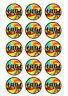 15 DISCO EDIBLE ICING CUPCAKE CUP CAKE TOPPERS DECORATION IMAGES BIRTHDAY PARTY
