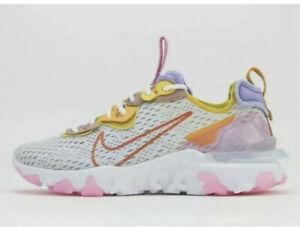 Nike React Vision 'Saffron' D/MS/X Air Max Pure Platinum Flyknit  Women's