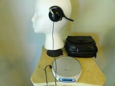 Sony D-Ej360 G Protection Portable Walkman Cd Player w/ Headphones/case Tested