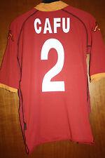 Maglia Shirt Trikot ASR Roma Cafu Kappa Brasile Mazda 00 01 02 03 Scudetto Totti