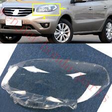 Left Side Transparent Headlight Cover + Glue Replace For  Renault Koleos 12-16AA