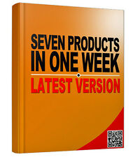Fast Product Creation Secrets; Seven In One Week - Find Out What Is Hot Now (CD)