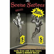 "Scene Setters 2 Giant Ghosts Decorations, Over 5ft High (33.5"" x 65"")"