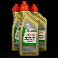 3l castrol syntrans multivehicle 75w-90 1l schaltgetriebeöl, MB 235.72, Ford