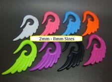 Angel Wings Spiral Stretcher Earplug Earring Ear Taper piercing Expander Cute
