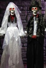 Halloween Animated Standing Bride & Groom - Great Prop