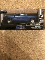 New! American Legends 2017 Blue CHEVROLET Silverado 1500 LT Z71 1/43 Scale!