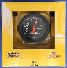 Auto Meter 2614 Z-Series Vacuum 30,  Boost 30 PSI  Mechanical Gauge 2 1/16