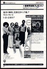1978 Little Feat Waiting For Columbus Japan album ad / mini poster advert 07m