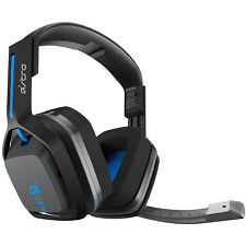 Logitech Astro A20 Wireless PS4 PC Gaming Headset w/ Boom Mic - Black Blue