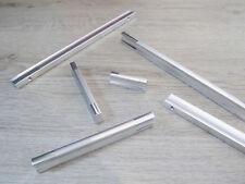 Möbelgriffe Griffleiste Schrankgriff Kommodengriffe Küchengriffe Silber Alu V840