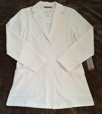Nwt Purple Label Women's Faith 5053 Lab Coat by Healing Hands Scrubs Sz Med