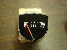 NOS OEM Ford 1952 1953 Oil Pressure Dash Gauge Custom Customline Crestline