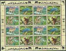 Timbres Animaux Nations Unies Genève F 389/92 ** année 1999 lot 4152