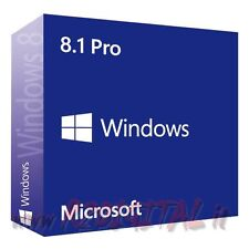 WINDOWS 8.1 PROFESSIONAL ESD PRO 32 64 BIT LICENZA SOFTWARE COMPUTER PC ORIGINAL