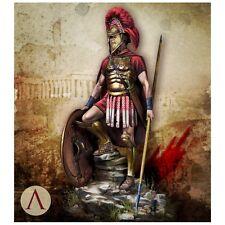 Échelle 75 Greek Hoplite Warrior 480BC 75 mm non peinte résine kit
