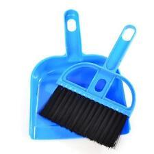 Mini Desktop Sweep Cleaning Brush Broom Dustpan Set PC Keyboard Home Tool