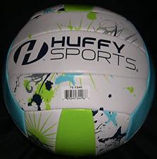 Huffy Volleyball Standard Size Paint Splat Graphics Indoor / Outdoor Waterproof