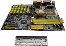 MAINBOARD CHAINTECH 7VJS0 SOCKET 462 7VJS0-00ACE  + cpu athlon 2400+